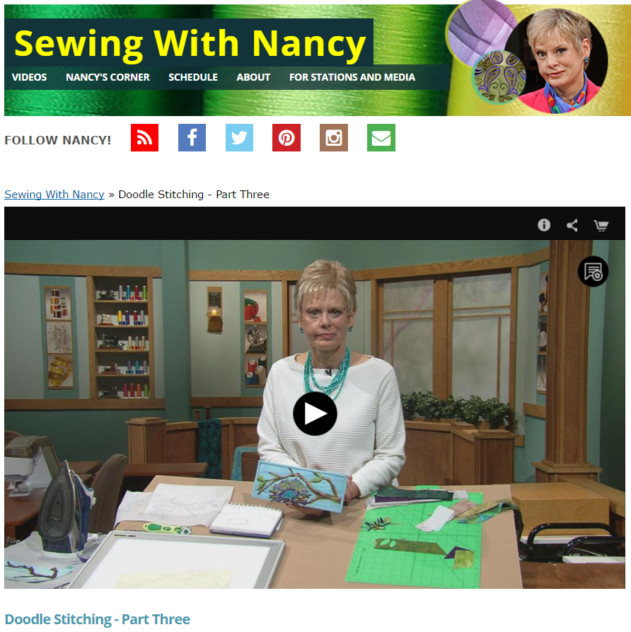 DoodleStitches3 NancyZieman ScreenShot