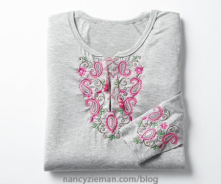 Machine Embroidery Nancy Zieman 1