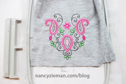 Machine Embroidery Nancy Zieman 15