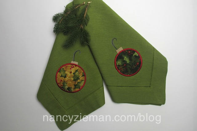 Ornament Napkins