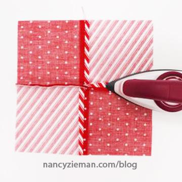 Peppermint Mug Rug Nancy Zieman 10