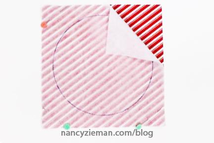 Peppermint Mug Rug Nancy Zieman 15