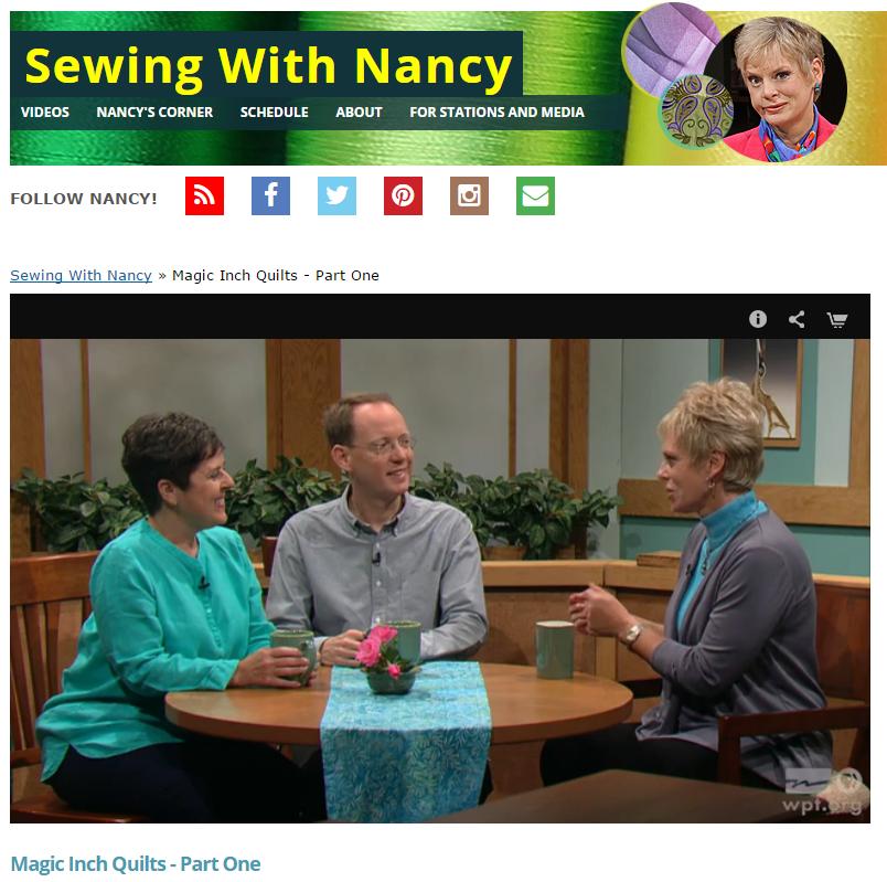 SewingWithNancy WeeksAndRingle