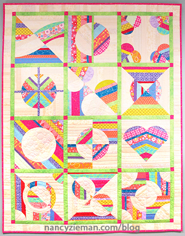2016FinishedQuilt Nancy Zieman