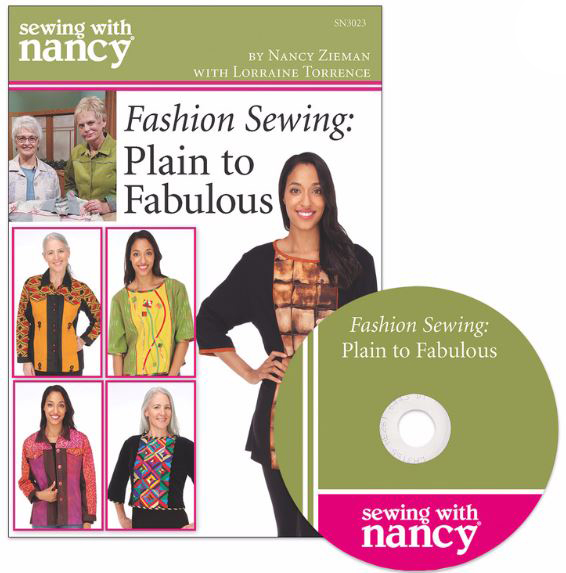 Personlize Your Wardrobe with Fashion Sewing Techniques with Lorraine Torrence and Nancy Zieman | Sewing With Nancy | Jean Jacket