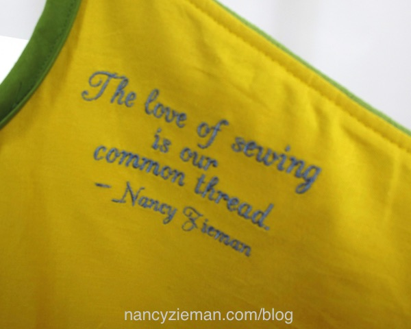 Baby Lock Love of Sewing Challenge, Nancy Zieman, Embroidery Tips, Free Embroidery Design