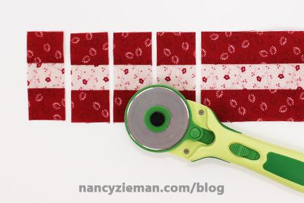 Nine Patch Block Nancy Zieman 13