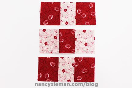 Nine Patch Block Nancy Zieman 14