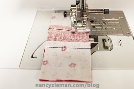 Nine Patch Block Nancy Zieman 15