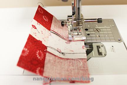Nine Patch Block Nancy Zieman 16