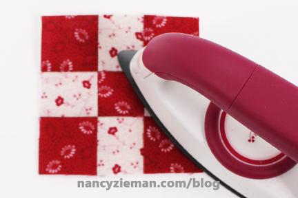 Nine Patch Block Nancy Zieman 17