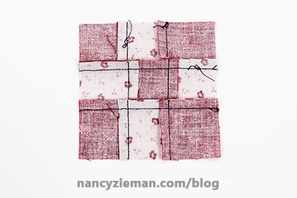 Nine Patch Block Nancy Zieman 18
