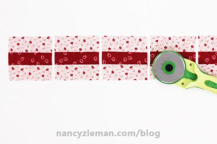 Nine Patch Block Nancy Zieman 20