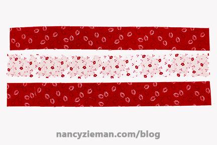 Nine Patch Block Nancy Zieman 8