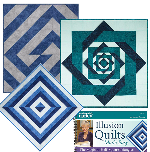 Quilt Collage Nancy Zieman Illusions