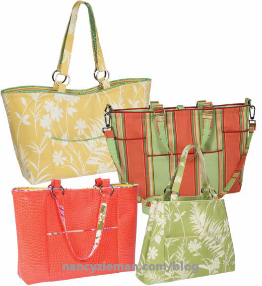 Trace 'n Create Florida Bag Template by Nancy Zieman and Clover USA