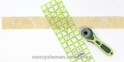 Nancy Zieman Faux Hexagons 3
