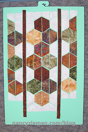 Nancy Zieman Faux Hexagons 7