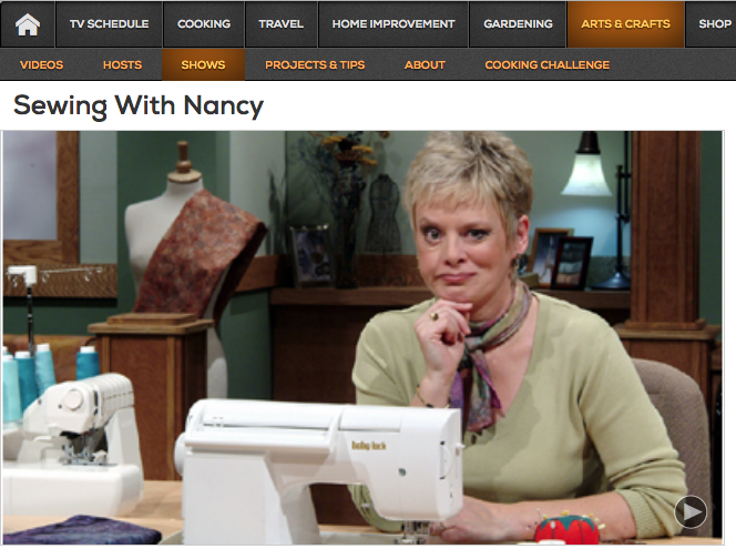 Watch Sewing With Nancy Nationwide on Create TV