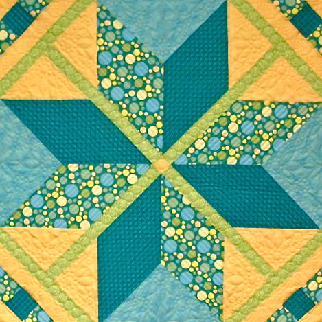 How to Make a Modern Lone Star Quilt by Nancy Zieman