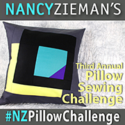 2017 Pillow Sewing Challenge by Nancy Zieman