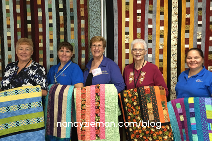 Quilt To Give Nancy Zieman Volunteers