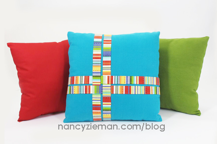 WrappedPillowCorners Nancy Zieman First