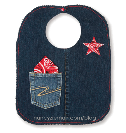 Denim Recycled Bib NancyZieman