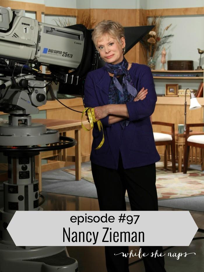 Nancy Zieman podcast interview with Abby Glassenberg