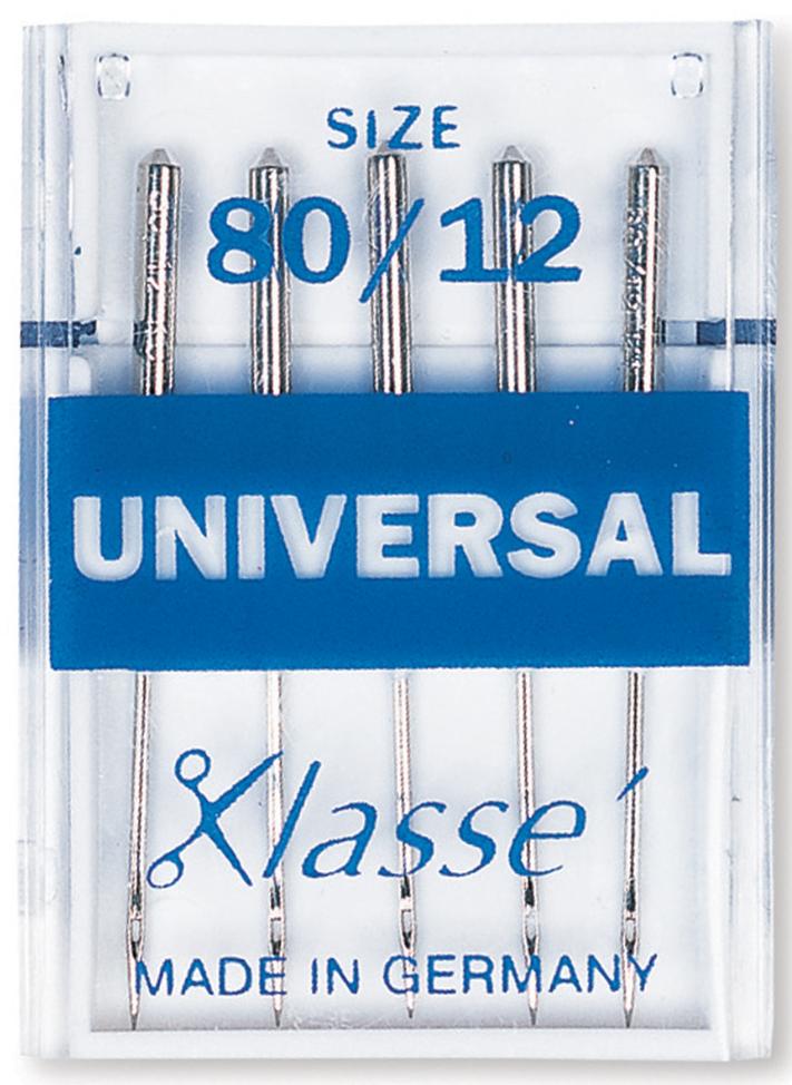 Klasse Universal Sewing Machine Needles Size 80