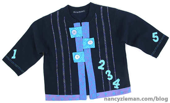 SweatShirts Blue8 SewingWithNancy
