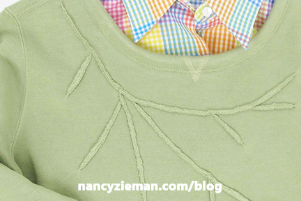 Remake Sweatshirts with Mary Mulari and Nancy Zieman on Sewing With Nancy