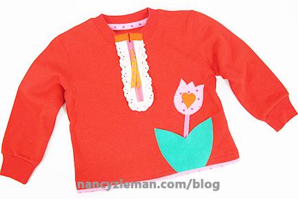 Remake Sweatshirts with Mary Mulari and Nancy Zieman on Sewing With Nancy