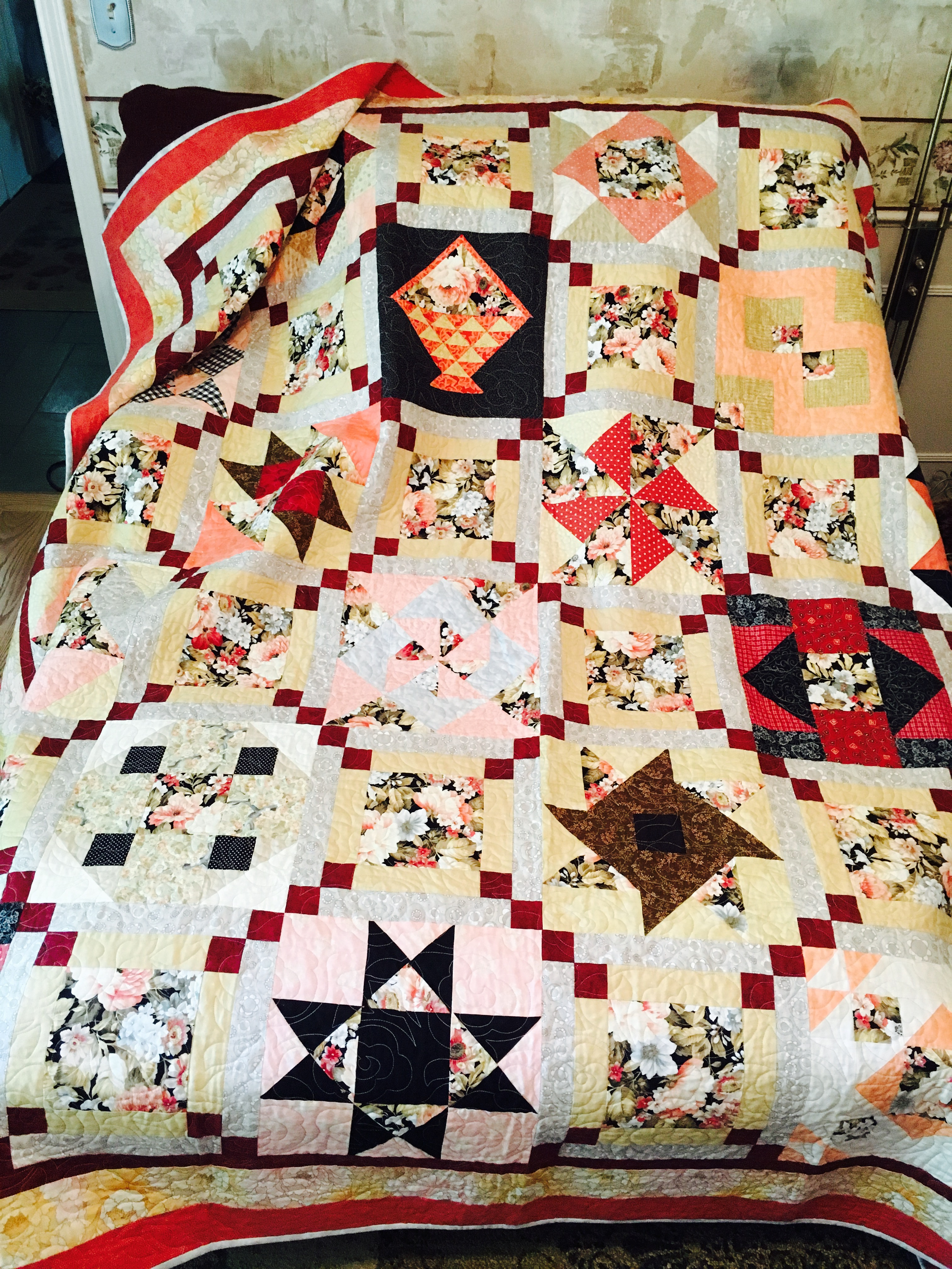 Birthday Block Club Quilt - Ohio Chapter - Sewing With Nancy
