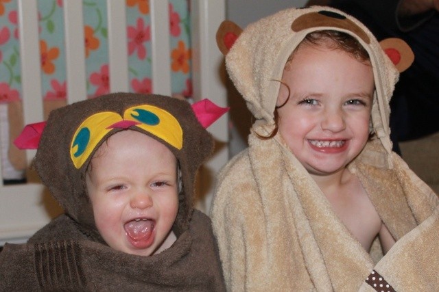 Sew a Hooded Towel Wrap for Kids