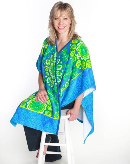 TowelWrap Nancy Zieman
