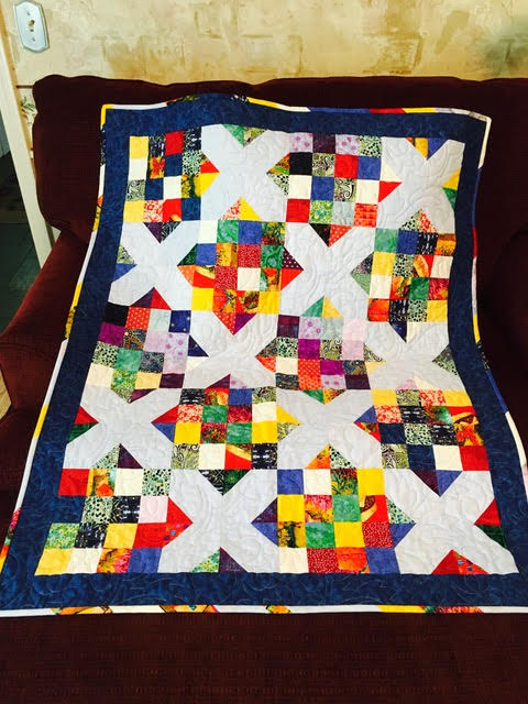 Veterans Lap Quilt - Ohio Chapter - Sewing With Nancy