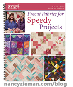 Fabric Precut NancyZieman Cover