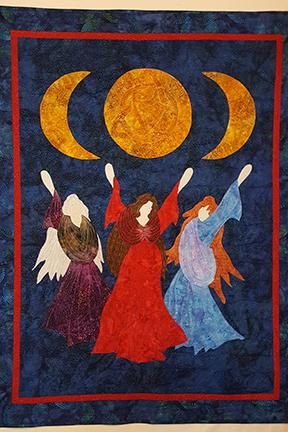 Goddess Quilt Finished