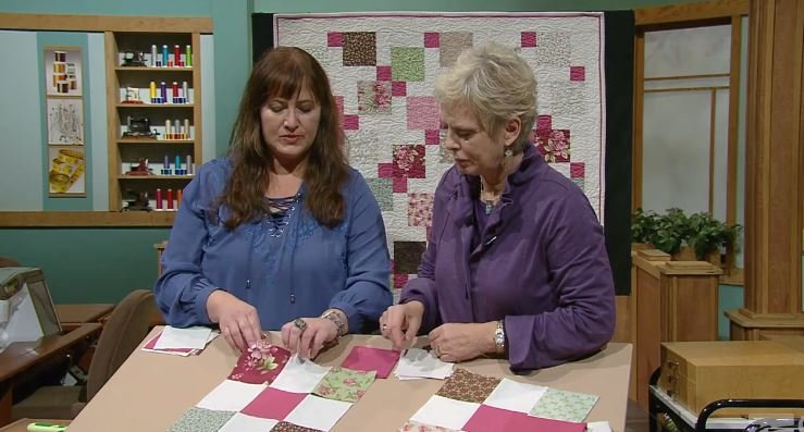 Season 31 of Sewing With Nancy | Nancy Zieman | Charm Pack Quilts | Precut Fabrics for Speedy Quilts
