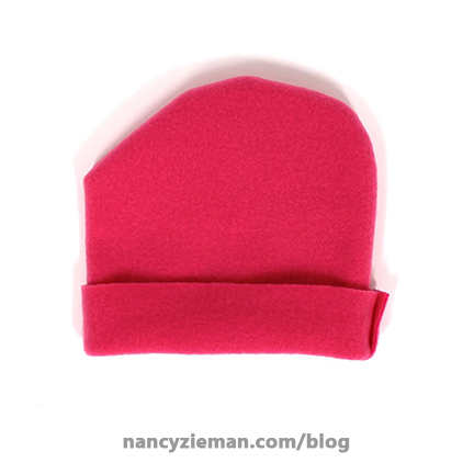 Sew a Heart Shape Hat for Babies in Need | Bringing Hope 2 Others | Nancy Zieman | Sewing With Nancy | Nancy's Corner Segment