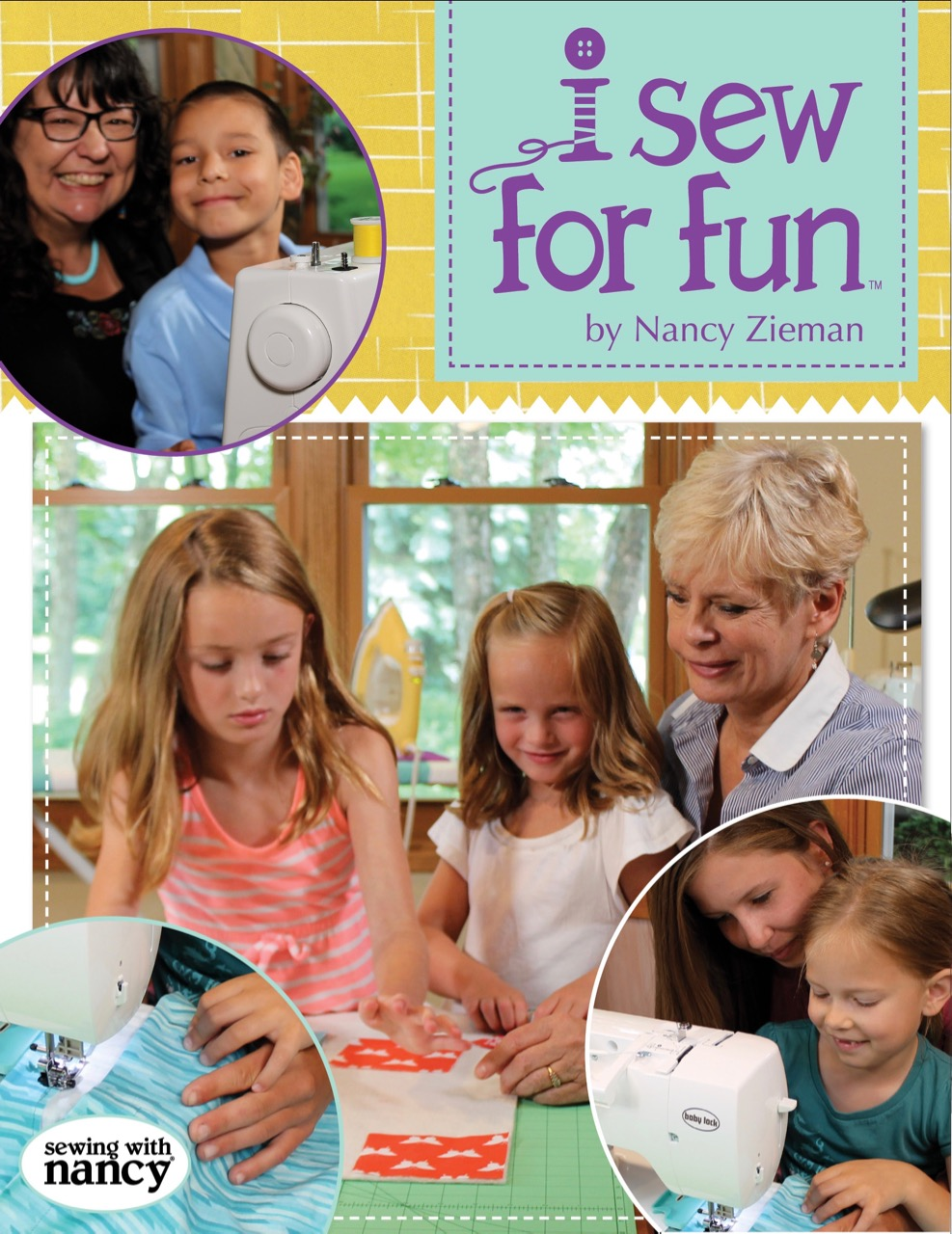 I Sew For Fun Book by Nancy Zieman as Seen on the Sewing With Nancy Television Show