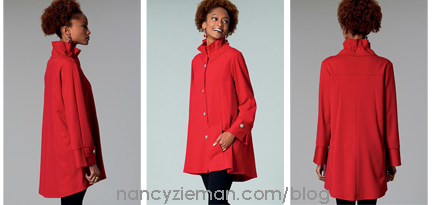 Sew Smart- A Three-Season Jacket designed by Nancy Zieman for McCall Pattern Company on Sewing With Nancy