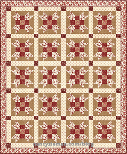 Traditional Sashed Quilt NancyZieman