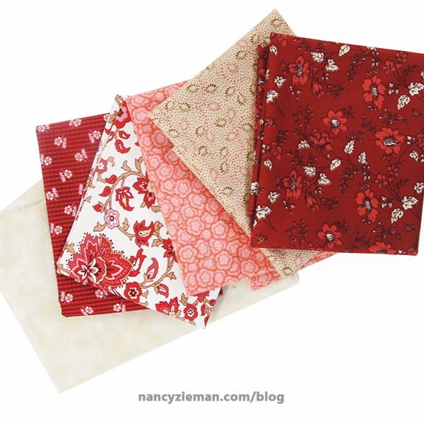BOM Nov NancyZieman Fabrics