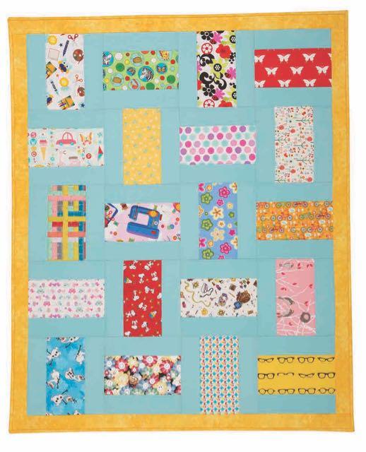 Nancy Zieman's I Sew For Fun I-Spy Quilt