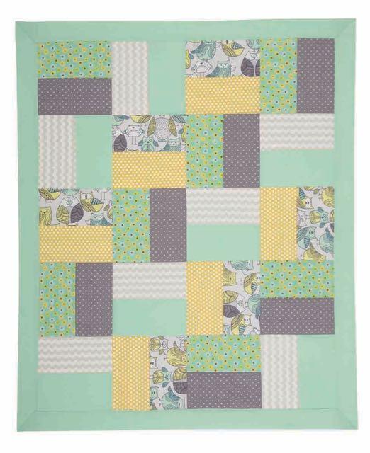 Nancy Zieman's I Sew For Fun Two-Piece Block Quilt