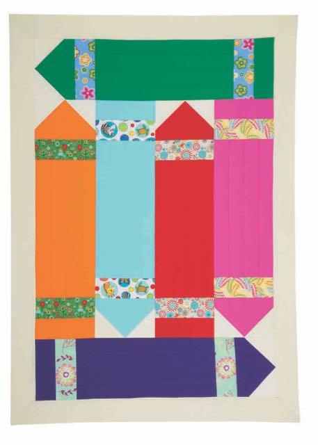 Nancy Zieman's I Sew For Fun Crayon Quilt