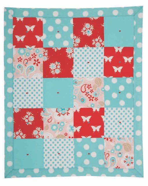 Patchwork Quilt for Dolls