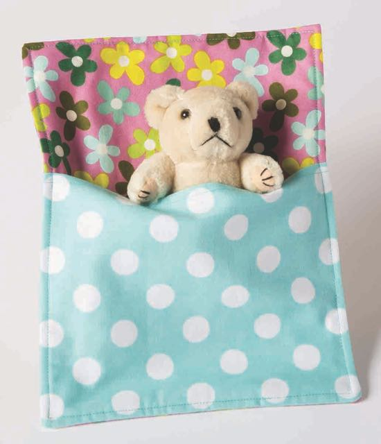 Stuffed Animal Sleeping Bag from I Sew For Fun by Nancy Zieman